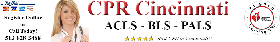 CPR Cincinnati | BLS, ACLS & PALS Classes | CPR Certification