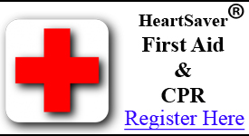 First Aid and CPR with AED Combo Class