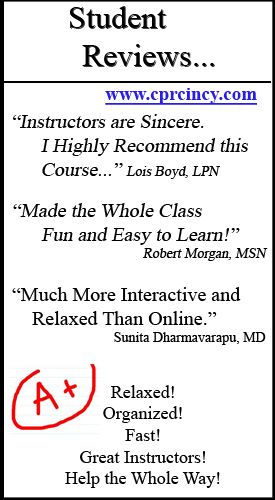 Reviews CPR Classes Cincinnati