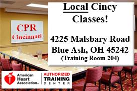 CPR Cincinnati Location