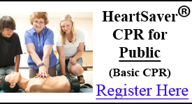 CPR Class Cincinnati | AHA HeartSaver CPR