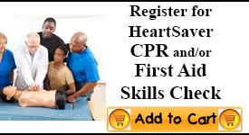 CPR First Aid Check Session Cincinnati